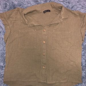 🆕 NWOT Cotton On Olive green short sleeve